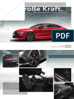 Audi A7 TDI S line competition Catalogue (DE)