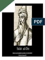 Unidad 6 Salah Ad-Din - Diego Alexander Agudelo Echeverry