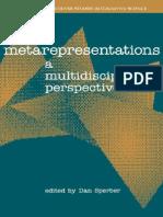 53683112 Sperber Ed Metarepresentations a Multidisciplinary Perspective