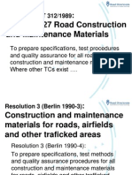 Road Construction Materials