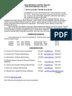 BCH 6206-2011 Syllabus