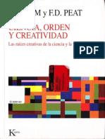 Ciencia Orden y Creatividad