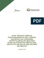 Guia Tecnica Para El Codigo Mater en Unidades Hospitalarias