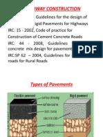 Pavement Design and Construction