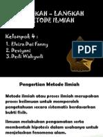 PPT METODOLOGI PENELITIAN