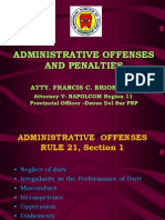 PLEB Administrative Offenses and Penalties Module-FCB