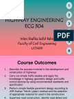 Highway Engineering Lecturer Notes Chapter 1 2
