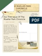 Mueller Park Chronicle