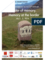 The Border of Memory
