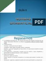 Redacción Publicitaria Guía II Normas Gramaticales