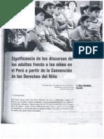 Significancia de Los Discursos de Los Adultos Frente a Los Niños... DORA BARDALEZ