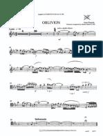 Oblivion Cello Solo
