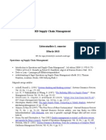 Litteraturliste Paa Hd Scm 1-3 Semester 2013 2014 (2)