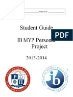 MYP Personal Project Guide