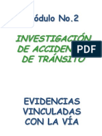 Investigacion de Accidentes de Transito
