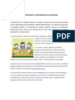 La Desnutricion y Su Incidencia en La Educacion