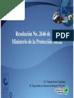 Presentacion Resolucion 2646 2008 Parte1