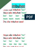 Lagu Imbuhan