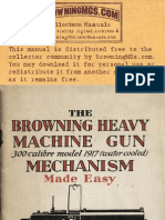 1917 Browning MG Made Easy