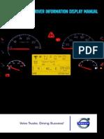 Volvo Driver Information Display Manual