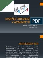Diseño Organizativo y Administrativo