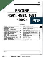 Engine 4g61, 4663, 4664