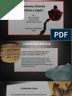 Literatura Extremo Oriente