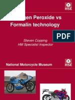Hydrogen Peroxide-Formaline Technology