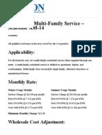 Residential Multi-Family Service