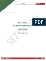 SEZOnline Release Notes V2 48 Units
