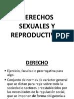 Derecho Sexual y Reproductivo