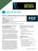 Teacher's Guide - Human Face of Big Data