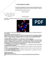 Atividade Revisional Geometria Molecular e Polaridade Das Ligações.
