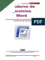 Cuaderno de Trabajo Word 2007 - Alumno