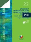 Aporte Al Debate Nº 22 Operarios y Operarias de Plantas de Proceso Industria Del Salmón