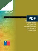 Aporte Al Debate Nº 28 Actuaciones y Políticas de Género en Empresas Del Sector Bancario