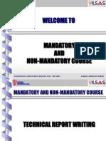 Technical Report Writing - New PLI