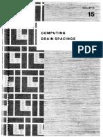 Computing Drain Spacings