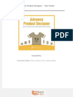 Advance Product Designer Magento Extension - User Guide