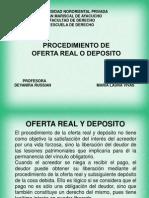 Oferta Real y Deposito
