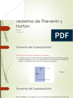 Teorema de Norton y Thevenin