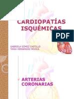 Cardiopatías isquémicas