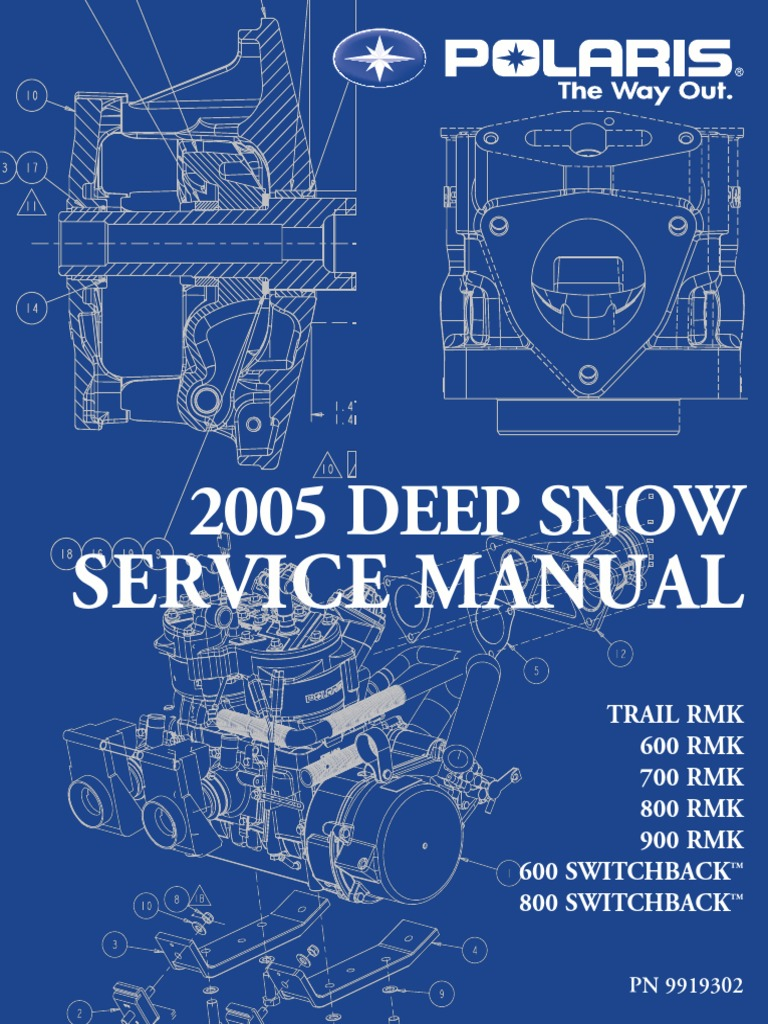 2005 Deep Snow Polaris 900 Service Manual | Ignition System | Clutch
