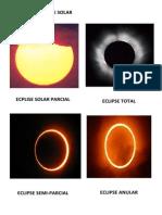 Clases de Eclipse Solar