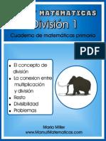 Mamut Matematicas Division 1 Sp