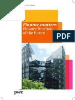 2014 Pwc Ireland Finance Matters Finance Function of the Future