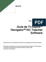 TI-Nspire Navigator NC Guidebook ES