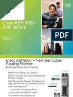 5.8 Cisco ASR9000 Architecture Vincent Ng1