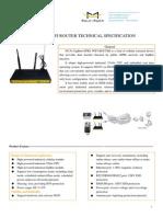 F8134_ZigBee+GPRS_WIFI_ROUTER_SPECIFICATION
