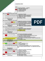 Calendario 2012 Campos-Centro